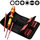 Набор диэлектрический WERA Kraftform Kompakt VDE Torque 1,2 - 3,0 Nm 059291